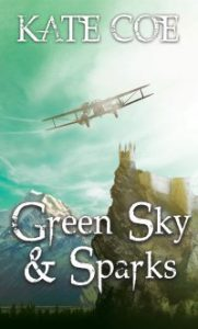 Green Sky and Sparks front cover