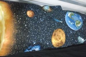 Solar System pillows