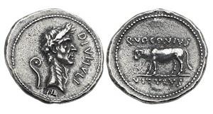 denarius-julius-caesar-bull