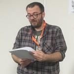 Adrian Faulkner reading