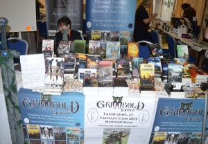 Grimbold Books stall