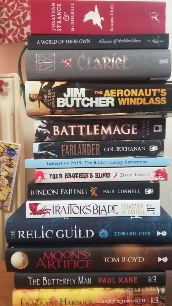 Large book stack