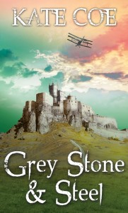 Grey stone and steel front cover