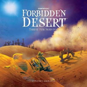 Forbidden Desert art