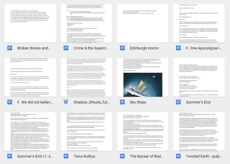 In progress folder