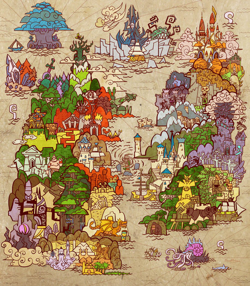 The Cataclysm Map by breath-art