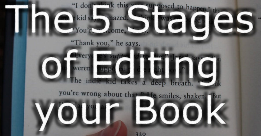 5 stages of editing your book