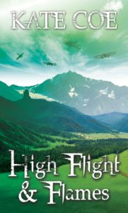 High Flight and flames front cover