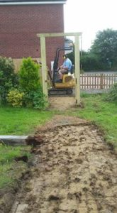 Jon and the digger