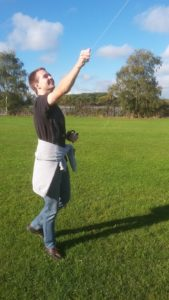 ryan flying kite