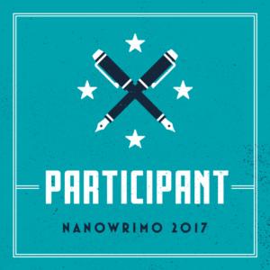 NaNoWriMo participant logo