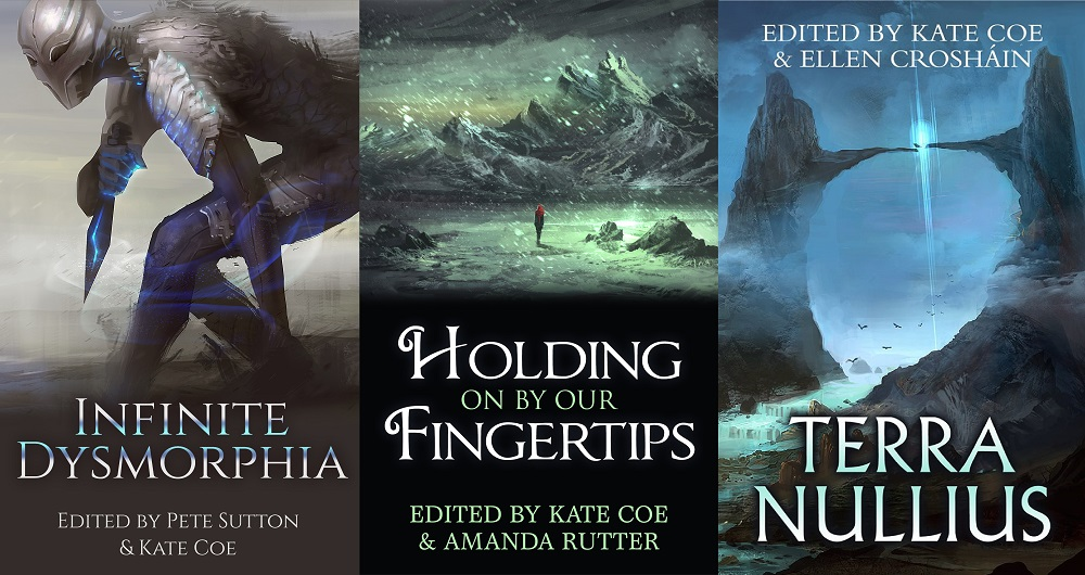 Three anthology covers