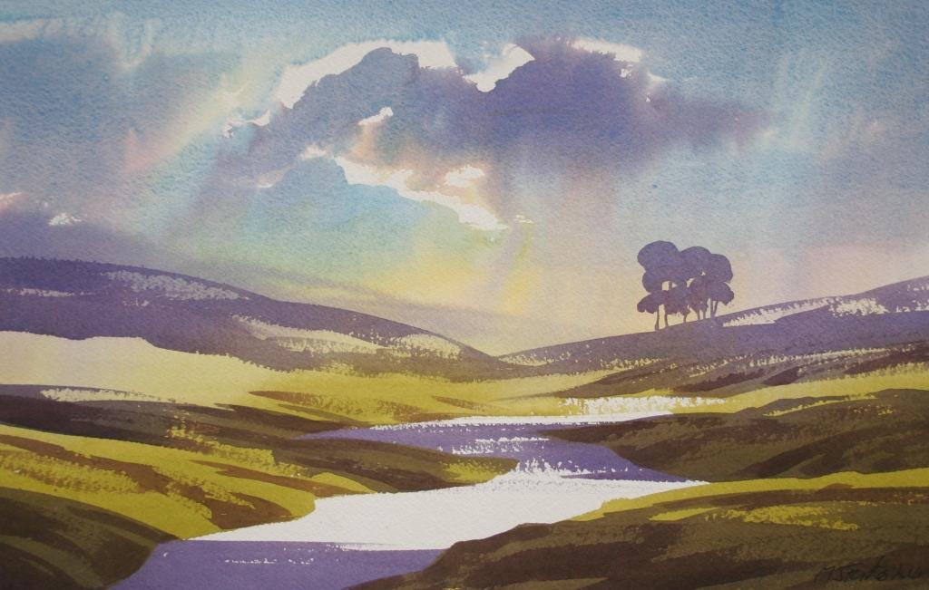 Landscape by MJ Forster