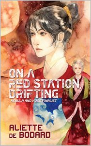 On a red station, drifting cover