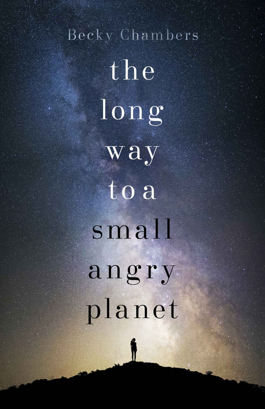 The long way to a small angry planet cover