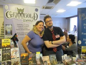 Grimbold stall at BristolCon