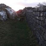 The wall near Walltown