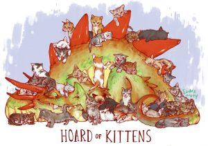 kitten hoard