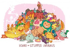 Stuffed animal hoard