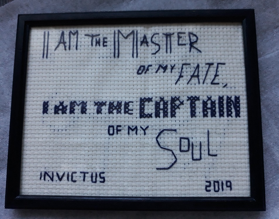 Invictus quote