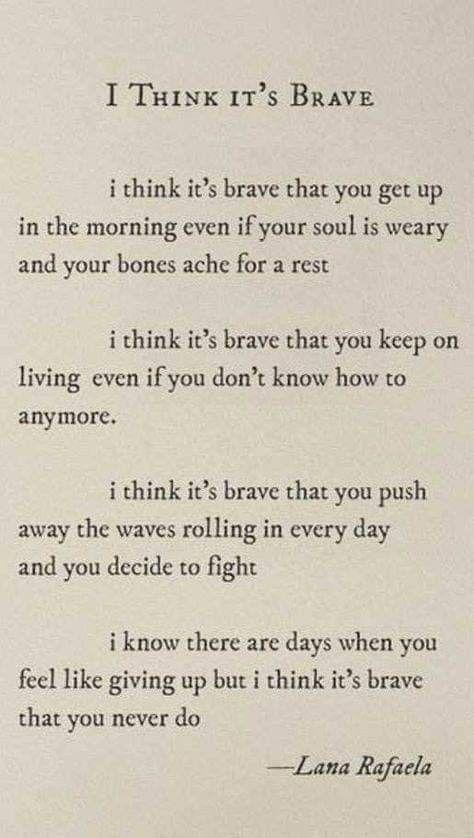 Brave by Lana Rafaela