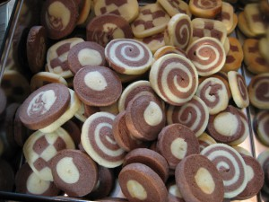 Image of Swirled cookies