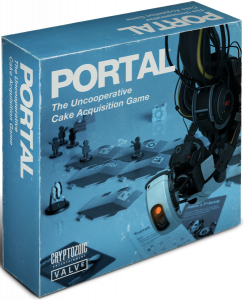 Portal board game box
