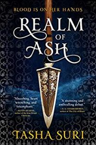 cover of realm of ash